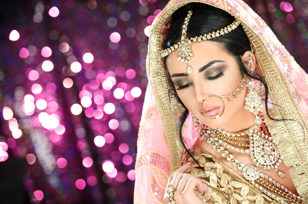 Bridal makeup at Satish Kargutkar