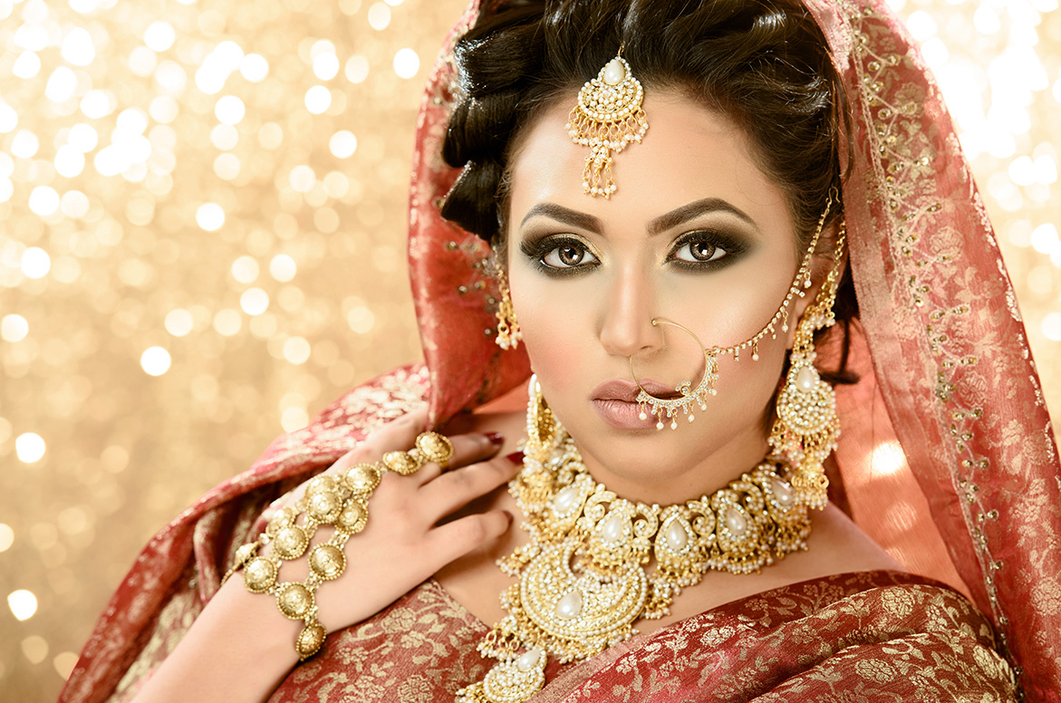 Wedding makeup at Satish Kargutkar