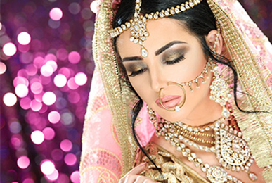 Indian Gujarati Bridal Makeup - Satish Kargutkar