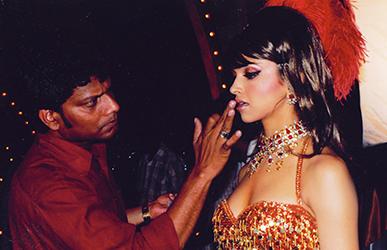 Satish Kargutkar Makeup with Deepika Padukone